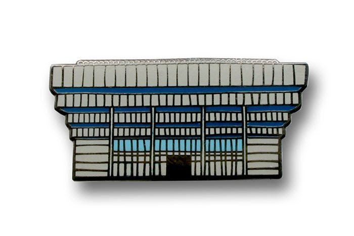 Central Library Pin Badge